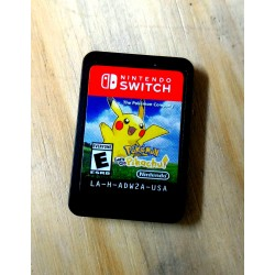 Pokemon let`s go pikachu