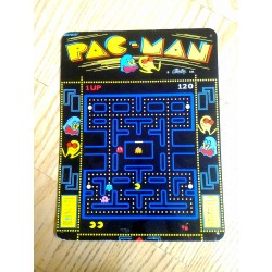 Placa de metal pac man