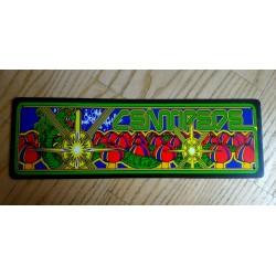 Placa de metal centipede