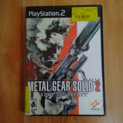 metal gear  solid 2 sons of...