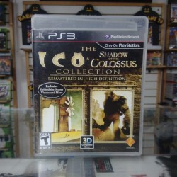 The ico shadow of the colossus
